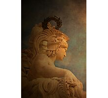 VALOR. Virtue.  Photographic Print