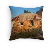 Failing Farm House, Range Road, Goulburn, NSW, Australia Throw Pillow