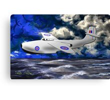 Saunders-Roe SR./A.1 jet powered flying boat 1947 Canvas Print