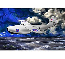 Saunders-Roe SR./A.1 jet powered flying boat Photographic Print