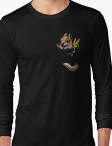 Pocket chipmunk Long Sleeve T-Shirt