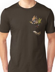 Pocket chipmunk Unisex T-Shirt