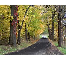 Mysterious Road Photographic Print