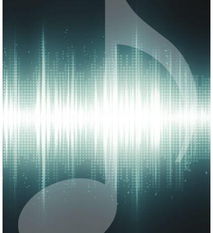 Music Sound Wave Sticker