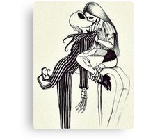 WE CAN LIVE LIKE JACK AND SALLY IF YOU WANT Canvas Print