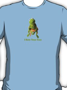 Kermit laying down the truth. T-Shirt