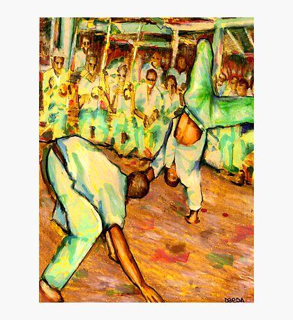 Old School Capoeira Photographic Print