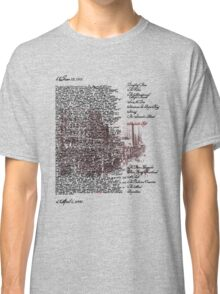Chicago Series: Saul Bellow Humboldt's Gift Classic T-Shirt
