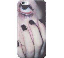 BLACK NAILS BIG EYES CASE iPhone Case/Skin