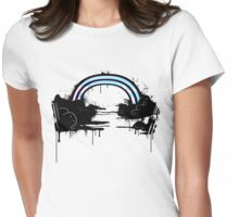 Rainbows and Renegades Womens Fitted T-Shirt