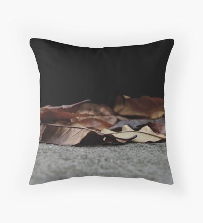 The Fallen Leaves. Throw Pillow