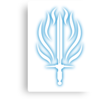 Templar Order Symbol Dragon Age Canvas Print