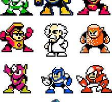 Mega Man 2 by Luigi Zaccagnini