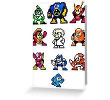 Mega Man 2 Greeting Card