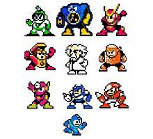 Mega Man 2 Photographic Print
