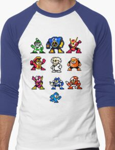 Mega Man 2 Men's Baseball ¾ T-Shirt
