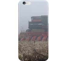 Fog Closes in on the Farm iPhone Case/Skin