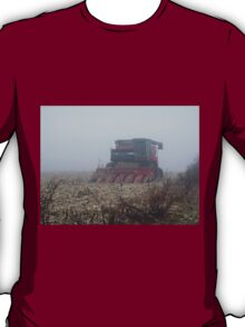 Fog Closes in on the Farm T-Shirt
