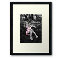 Swing High  Framed Print