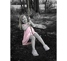 Swing High  Photographic Print