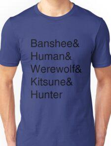 Teen Wolf Main Character Season 3 Unisex T-Shirt