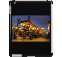 Showmans engine by night iPad Case/Skin