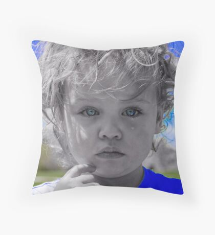 I'll shed only one tear for you today Throw Pillow