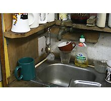 Little Sink Photographic Print