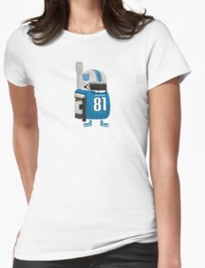 Calvin Megatron Johnson Womens Fitted T-Shirt