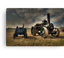The Fowler & the Fordson Canvas Print