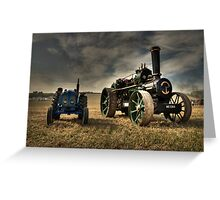 The Fowler & the Fordson Greeting Card