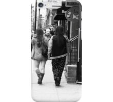 The streets of Philadelphia iPhone Case/Skin