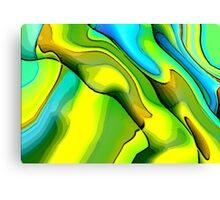 Green Poet Canvas Print