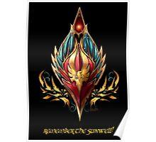 Blood elf emblem  Poster