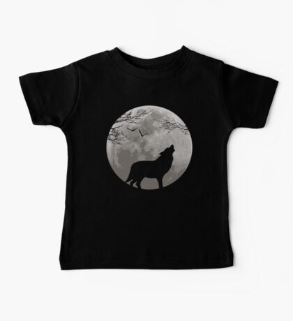 Howling Wolf Baby Tee