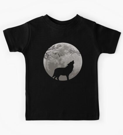 Howling Wolf Kids Tee