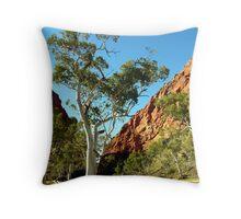 Simpsons Gap, Western Ranges, Alice Springs, Northenr Territory, Australia Throw Pillow