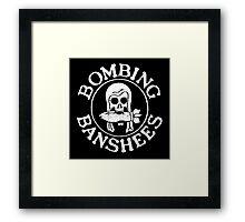 Bombing Banshees Framed Print