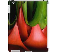 red & green iPad Case/Skin