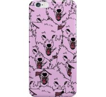 Pink Wolf Pack iPhone Case/Skin