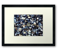 cockles and muscles alive alive oh ... Framed Print
