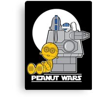 Peanut Wars Canvas Print