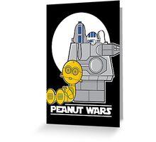 Peanut Wars Greeting Card