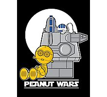 Peanut Wars Photographic Print