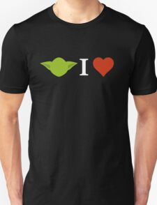 Yoda I Love (black) T-Shirt