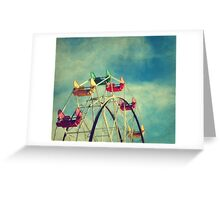 Ride The Sky Greeting Card