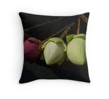 Flower Offering Throw Pillow