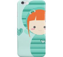 mint doll ♥ iPhone Case/Skin