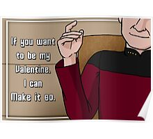 Make it so, Valentine Poster