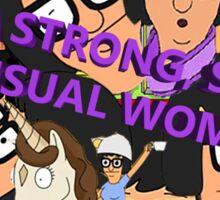 I'M A SMART, STRONG SENSUAL WOMAN Sticker